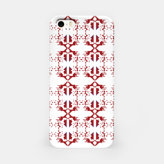 Miniatur iPhone red white Ornaments Luxury, Live Heroes