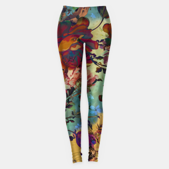 Thumbnail image of Collage LXXXIV Leggings, Live Heroes