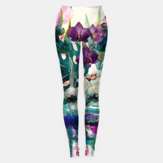 Thumbnail image of Collage XCIX Leggings, Live Heroes