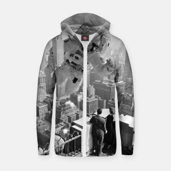Thumbnail image of Astrocity Cotton zip up hoodie, Live Heroes