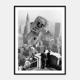 Thumbnail image of Astrocity Framed poster, Live Heroes