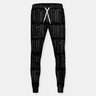 Thumbnail image of You had Me at Chapter 1 Cotton sweatpants, Live Heroes