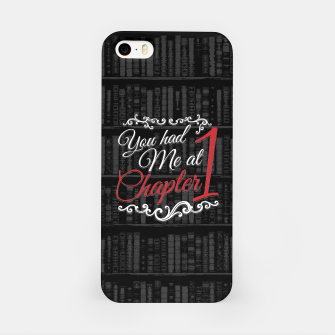 Thumbnail image of You had Me at Chapter 1 iPhone Case, Live Heroes