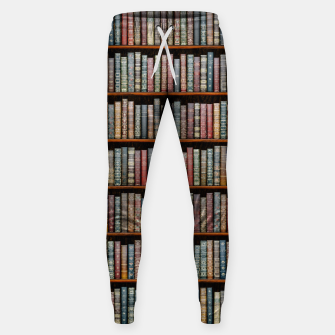 Thumbnail image of The Library Cotton sweatpants, Live Heroes