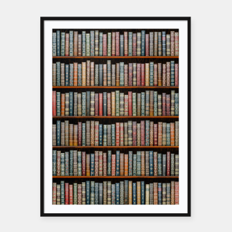 Thumbnail image of The Library Framed poster, Live Heroes