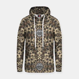 Thumbnail image of I am big cat with sweet catpaws decorative Cotton hoodie, Live Heroes