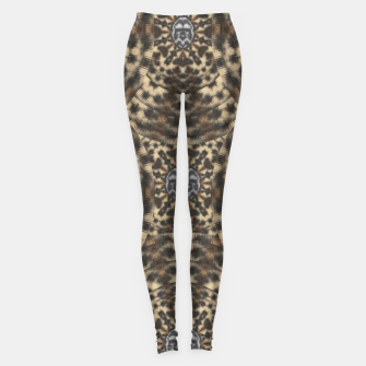 Thumbnail image of I am big cat with sweet catpaws decorative Leggings, Live Heroes