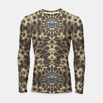 Thumbnail image of I am big cat with sweet catpaws decorative Longsleeve rashguard , Live Heroes