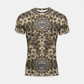 Thumbnail image of I am big cat with sweet catpaws decorative Shortsleeve rashguard, Live Heroes