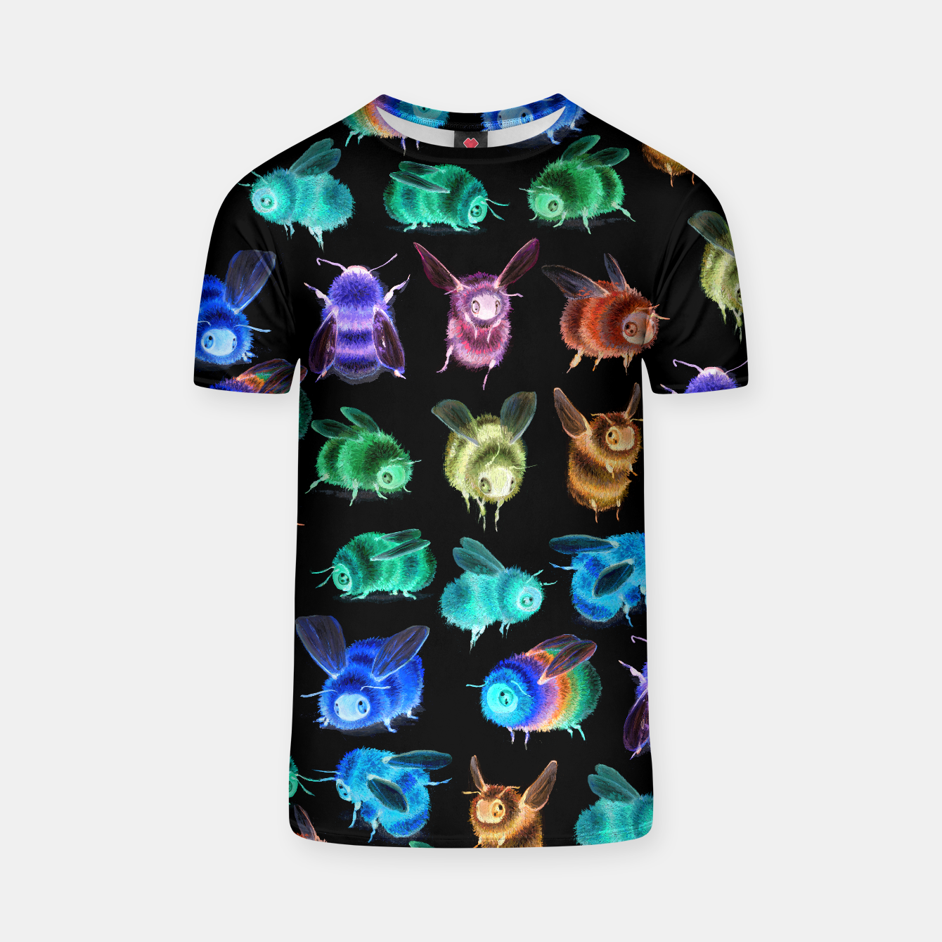 Image of Inverse Fuzzy Bee Tshirt - Live Heroes