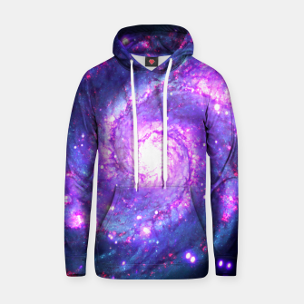 Miniaturka Ultra Violet Whirlpool Galaxy Cotton hoodie, Live Heroes