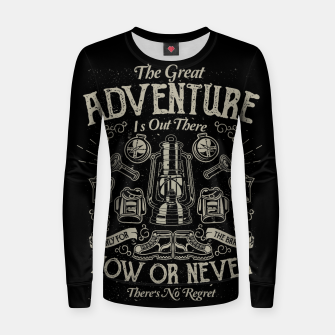 Miniaturka The Great Adventure Woman cotton sweater, Live Heroes