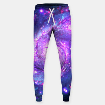 Miniaturka Ultra Violet Whirlpool Galaxy Cotton sweatpants, Live Heroes