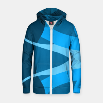 Thumbnail image of Oceanic Cotton zip up hoodie, Live Heroes