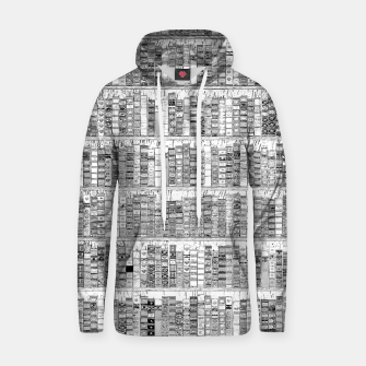 Thumbnail image of The Library II Cotton hoodie, Live Heroes