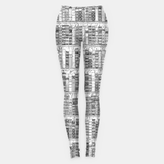 Thumbnail image of The Library II Leggings, Live Heroes