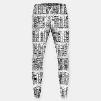 Thumbnail image of The Library II Cotton sweatpants, Live Heroes