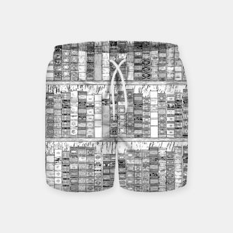 Thumbnail image of The Library II Swim Shorts, Live Heroes