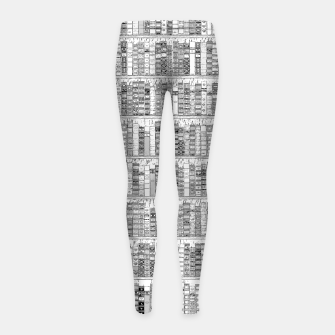 Thumbnail image of The Library II Girl's leggings, Live Heroes