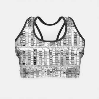 Thumbnail image of The Library II Crop Top, Live Heroes