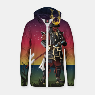 Thumbnail image of Honour and Glory Cotton zip up hoodie, Live Heroes