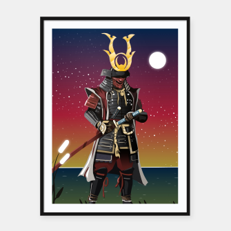 Thumbnail image of Honour and Glory Framed poster, Live Heroes