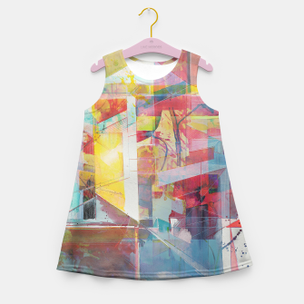 Miniaturka Urbanity I Girl's summer dress, Live Heroes