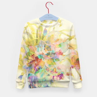 Thumbnail image of Flower Tale Kid's sweater, Live Heroes