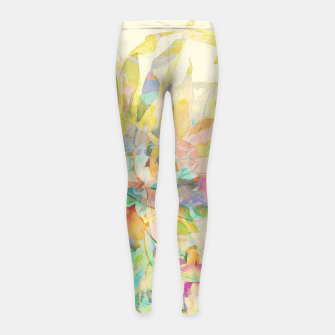 Thumbnail image of Flower Tale Girl's leggings, Live Heroes