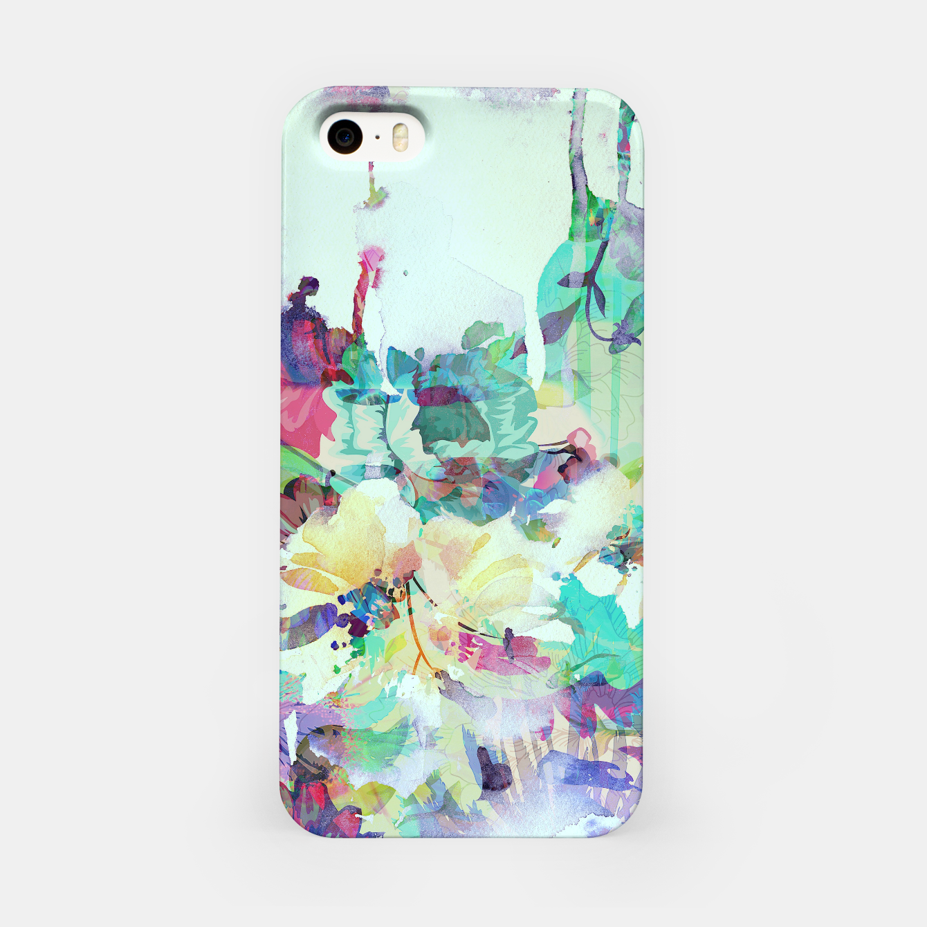 Image of Teardrop Blues iPhone Case - Live Heroes