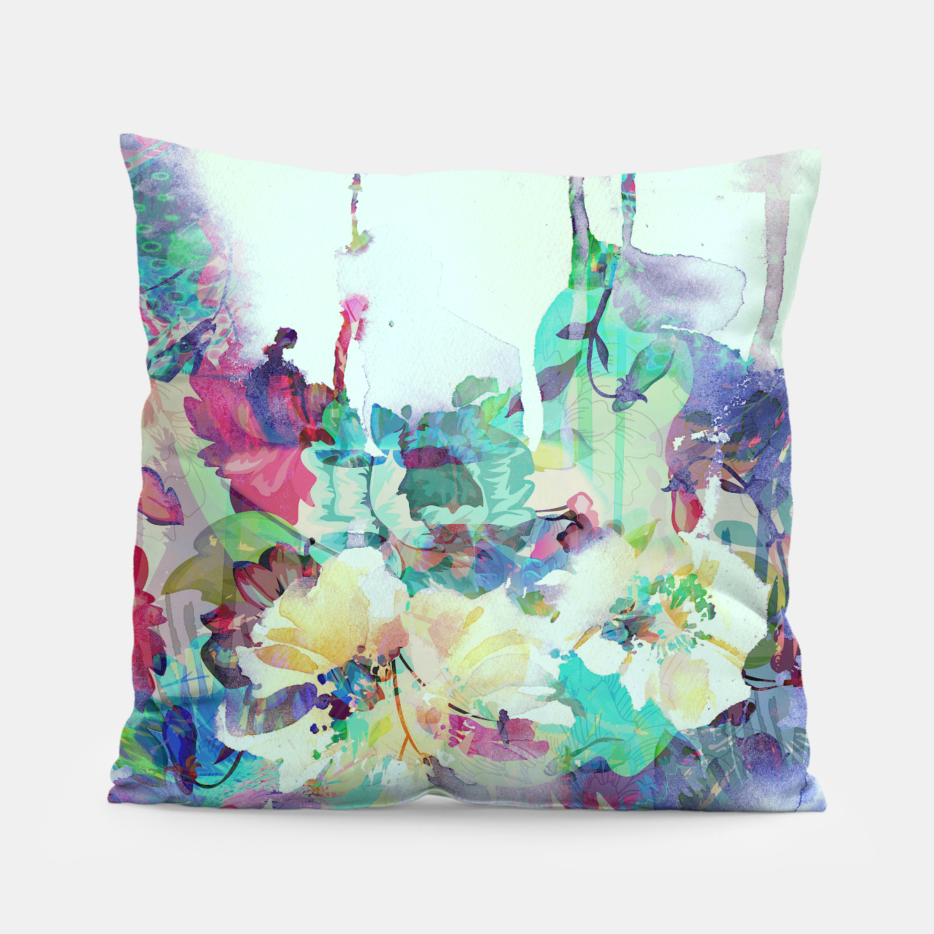 Image of Teardrop Blues Pillow - Live Heroes
