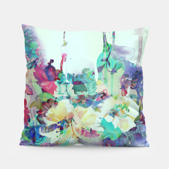 Thumbnail image of Teardrop Blues Pillow, Live Heroes