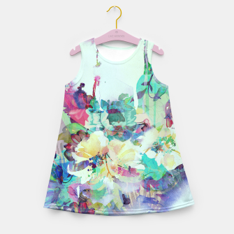 Thumbnail image of Teardrop Blues Girl's summer dress, Live Heroes