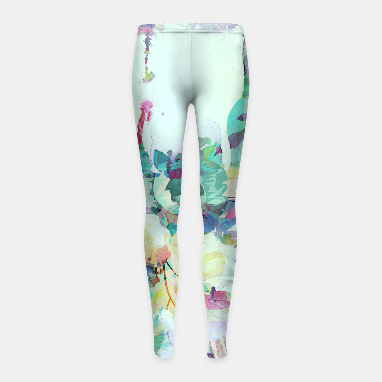 Image of Teardrop Blues Girl's leggings - Live Heroes