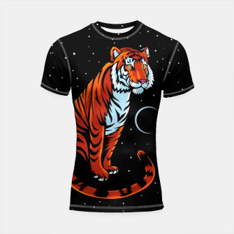 Miniature de image de Tribal Tiger Long tail Shortsleeve rashguard, Live Heroes