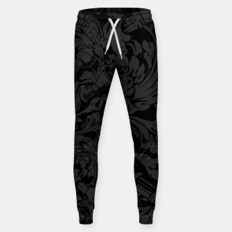 Thumbnail image of Bibliophile Heart Cotton sweatpants, Live Heroes