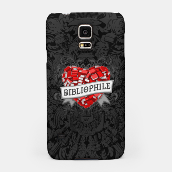 Thumbnail image of Bibliophile Heart Samsung Case, Live Heroes