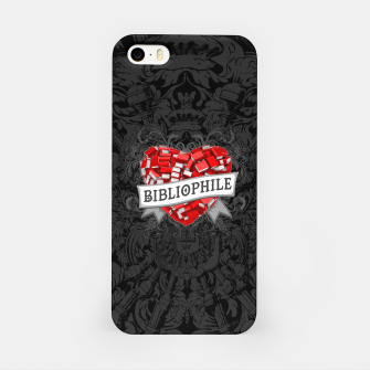 Thumbnail image of Bibliophile Heart iPhone Case, Live Heroes