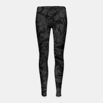 Thumbnail image of Bibliophile Heart Girl's leggings, Live Heroes