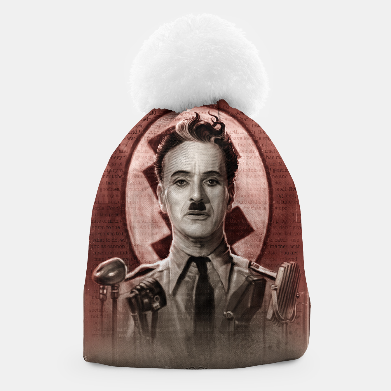 Image of The Great Dictator - Charlie Chaplin Beanie - Live Heroes