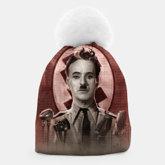 Thumbnail image of The Great Dictator - Charlie Chaplin Beanie, Live Heroes