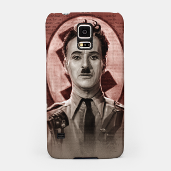 Thumbnail image of The Great Dictator - Charlie Chaplin Samsung Case, Live Heroes