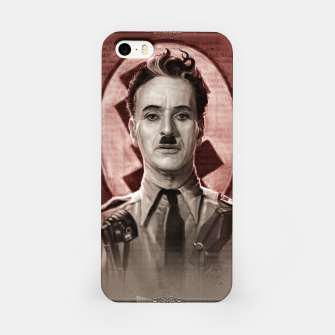 Thumbnail image of The Great Dictator - Charlie Chaplin iPhone Case, Live Heroes