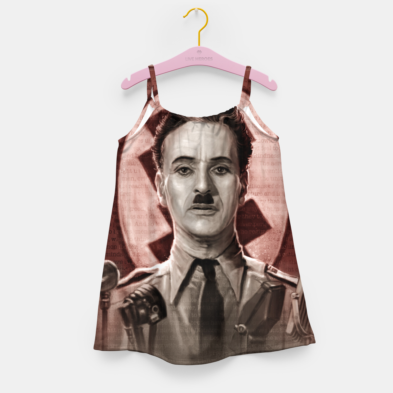 Image of The Great Dictator - Charlie Chaplin Girl's dress - Live Heroes
