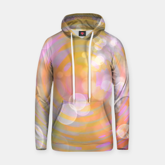 Thumbnail image of Abstract Flower Wave Bubbles Cotton hoodie, Live Heroes
