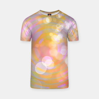 Thumbnail image of Abstract Flower Wave Bubbles T-shirt, Live Heroes