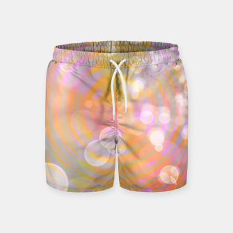 Thumbnail image of Abstract Flower Wave Bubbles Swim Shorts, Live Heroes