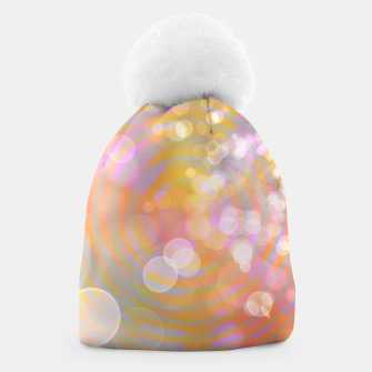 Thumbnail image of Abstract Flower Wave Bubbles Beanie, Live Heroes