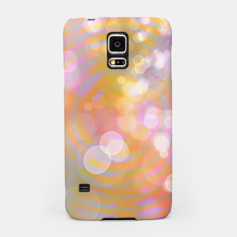 Thumbnail image of Abstract Flower Wave Bubbles Samsung Case, Live Heroes