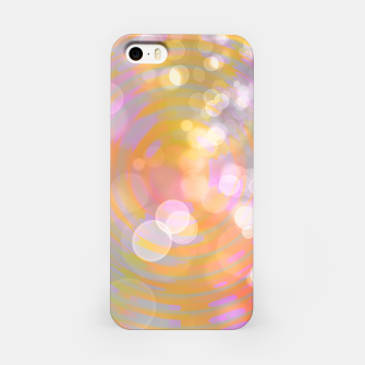 Thumbnail image of Abstract Flower Wave Bubbles iPhone Case, Live Heroes